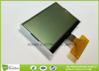 128 * 64 Transflective Graphic COG LCD Module Custom Made With White LED Backlight