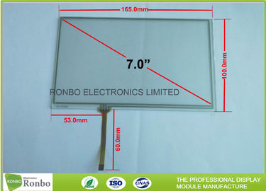 Durable 7 Inch Resistive Touch Panel With 4 - Wire Technology Touch Screen